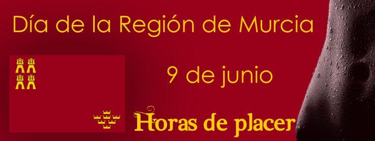Desde Horasdeplacer.com deseamos a nuestros paisanos un Feliz día de la Región de Murcia!. #Murcia #Cartagena #Lorca #Aguilas #Mazarron #Sanjavier #Sanpedrodelpinatar #Alcantarilla #Molinadesegura #Jumilla #Yecla #Caravaca.