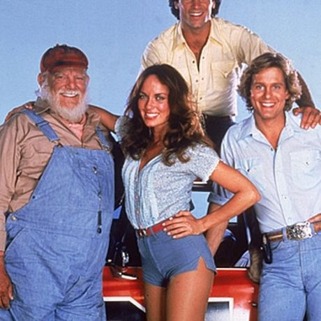 """Catherine Bach -- and her short-shorts -- became famous for playing Daisy Duke on the '70s/'80s series """"The Dukes of Hazzard."""""""
