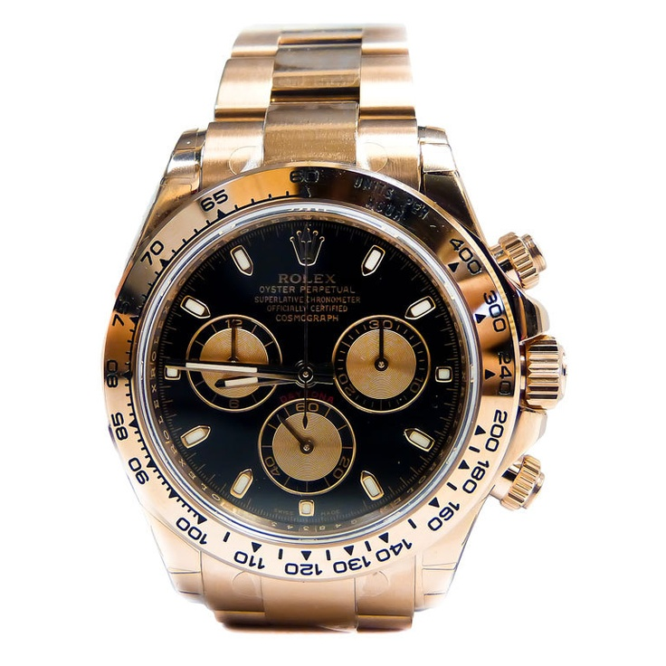 ROLEX Pink Gold Cosmograph Daytona Automatic Chronograph Wristwatch that is a 2012 model year.  at 1stdibs