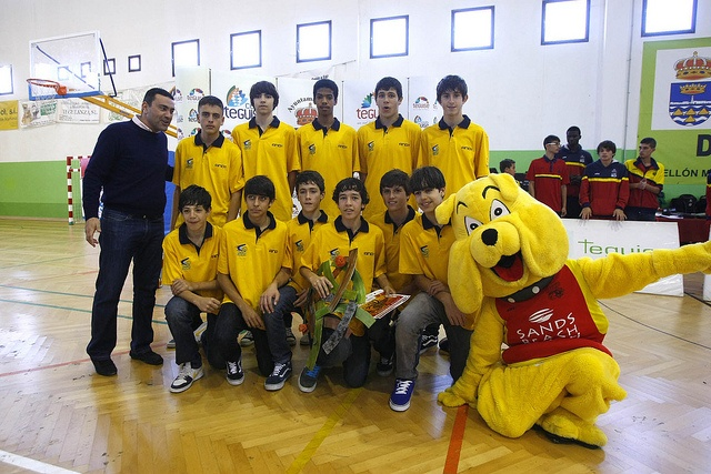 Buddy with local Basket ball team!