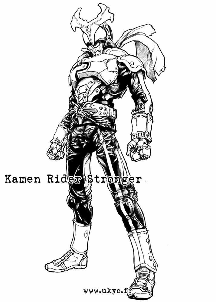 Kamen Rider Stronger by Uky0.deviantart.com