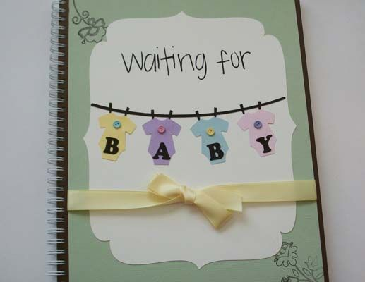 This handmade pregnancy journal is printed on heavy cardstock, making it ideal as a keepsake to share with your child one day. It includes a place to record memories as well as a calendar, blank note pages, and pages to mount baby bump pictures. $40 at Etsy.com