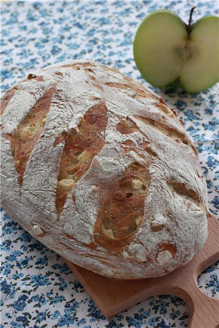 Яблочный хлеб (ФМ Хлебный словарь) рецепт с фотографиями
