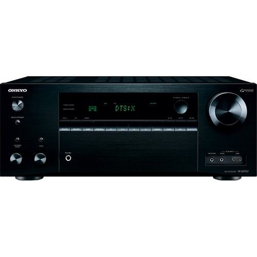 Onkyo 1260w 7 2 Ch Network Ready 4k Ultra Hd And 3d Pass Through A V Home Theater Receiver Black