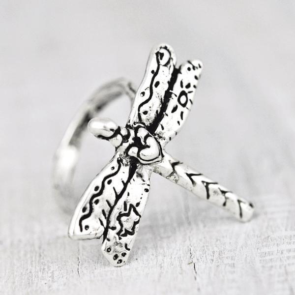 Handmade Dragonfly ring