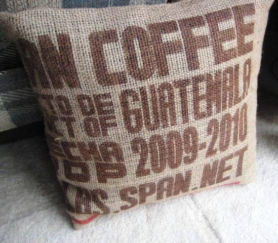 Guatemala Coffee Bag Pillow