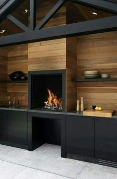 indoor braai and entertainment area ideas - Google Search #Braai