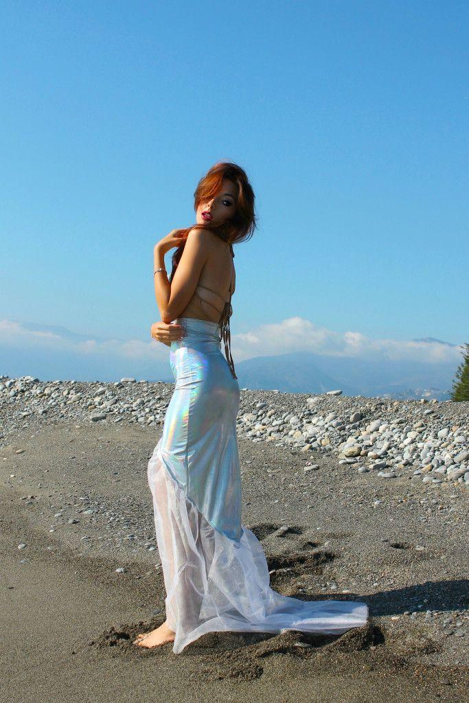 theladycracy.it, ansia sociale, vestito sirena, mermaid outfit, elisa bellino, fashion blog italia, w