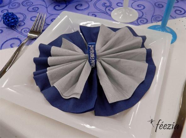 1000 images about pliages de serviette napkin folding on pinterest napki - Pliage de serviette accordeon ...
