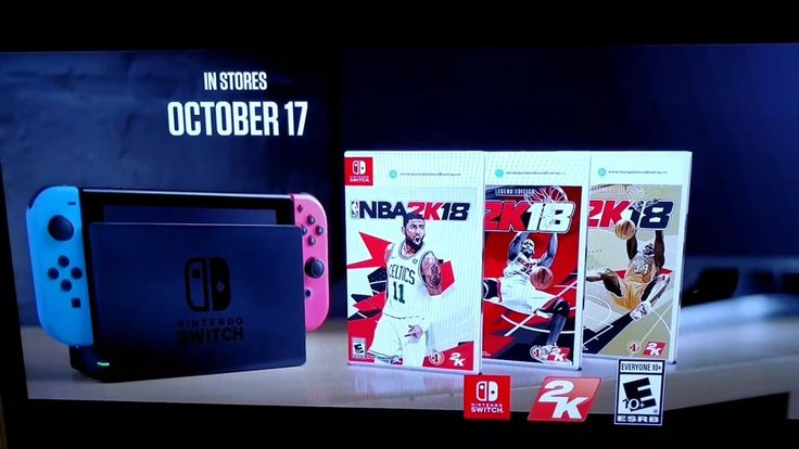 NBA 2K18 Switch commercial airs during NBA season openers - Nintendo Everything  ||  The Switch version of NBA 2K18 was in the spotlight yesterday as the 2017 – 2018 NBA season kicked off. During the game between the Boston Celtics and Cleveland Cavaliers as well as the Houston Rockets and Golden State Warriors, a Switch-specific commercial aired. The ad itself isn't anything too special. It takes a few…