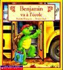 31997000916650 Benjamin va à l'école. Benjamin entre à l'école aujourd'hui. Il est très excité, mais il a un peu peur... Après une première journée à l'école où il s'est bien amusé et a beaucoup appris, Benjamin arrive à apprivoiser ses craintes.