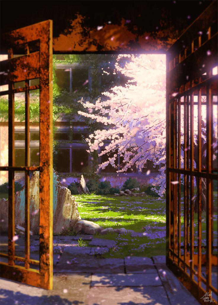 「中庭への誘い (+COMITIA119おしらせ)」/「mocha@ティア【O15a】」の漫画 [pixiv]