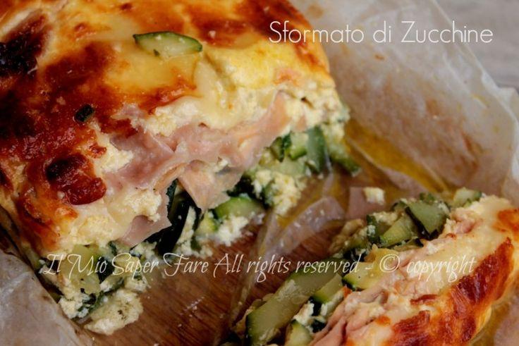 Sformato zucchine al forno ricetta facile e sfiziosa! Ricetta con zucchine semplice,economica e gustosa.Ideale per un pranzo take away al mare o in montagna