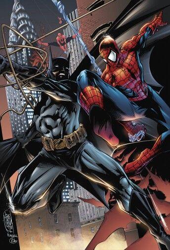 Batman vs spiderman