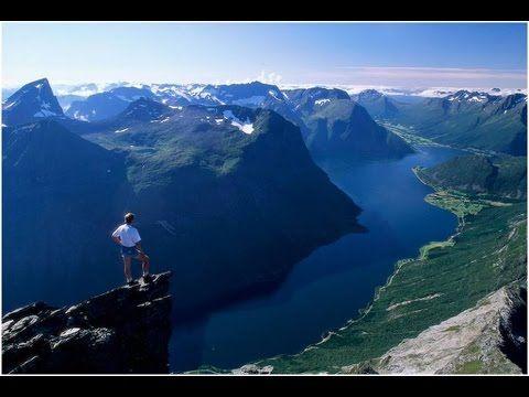 Kuvista, sanoista ja Griegin musiikista koostuva pääasiassa maantieteellinen esitys Norjasta koulukäyttöön.
