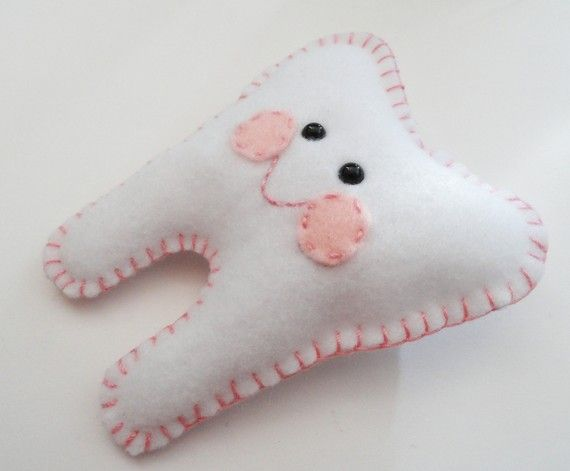 Tooth Fairy Pillow Your choice of color van RikapandaCrafts op Etsy