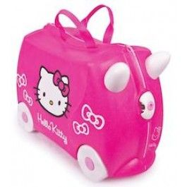 Perfect for a little girl! Hello Kitty suitcase by Trunki