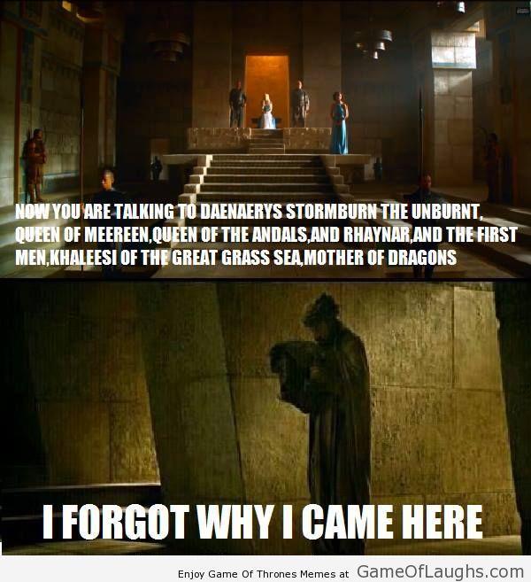 Výsledek obrázku pro daenerys titles meme