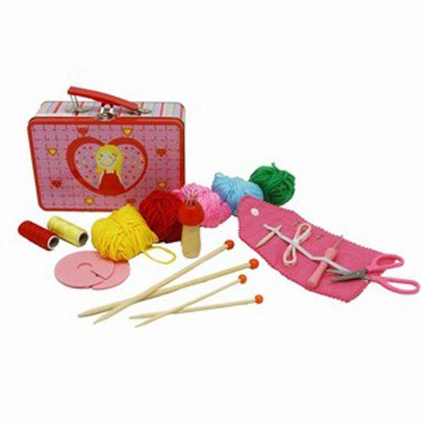 Koffer Breien en Haken. - Wolkewietje Speelgoed