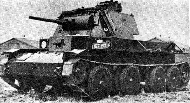 British Tanks of the Inter-war Decades - Cruiser Tank Mark 3, A13