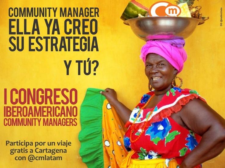 Congreso Iberoamericano Community Managers 2012 Palenquera, estrategia de E-marketing