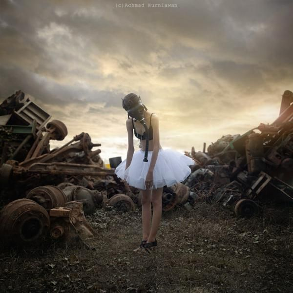 Conceptual Photography by Achmad Kurniawan   Cuded  Waiting to dance