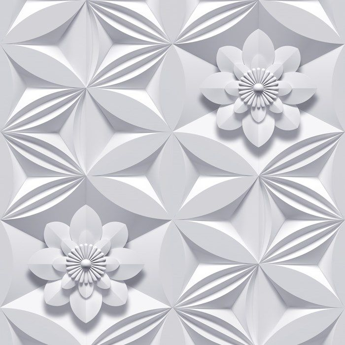 Wall Flower Grey Wallpaper by Graham and Brown
