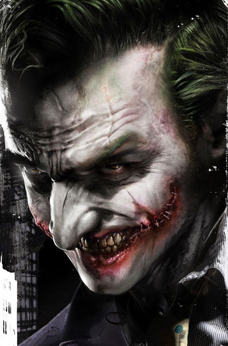 Famous Paintings Wallpaper Iphone Joker Fan Art In Your Face The Joker By Francesco