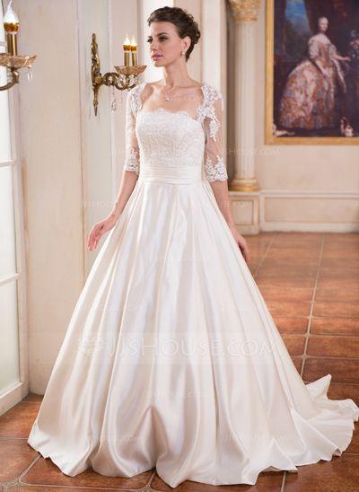 sur le thème Robes De Mariée Encolure sur Pinterest  Photos de ...