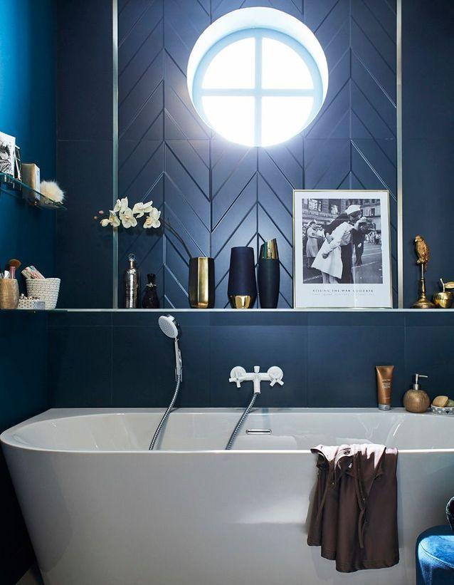 La Decoration Bleu Marine Nous Inspire Et Vous Elle