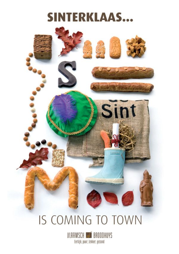I'm sure the Sinterklaas goodies by Vlaamsch Broodhuys will taste delicious!