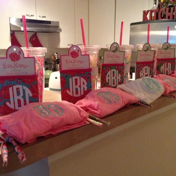 Cute bachelorette/ bridesmaids gifts