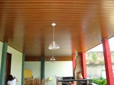 FORRO VALE DECORAÇÕES: Forro PVC Madeira