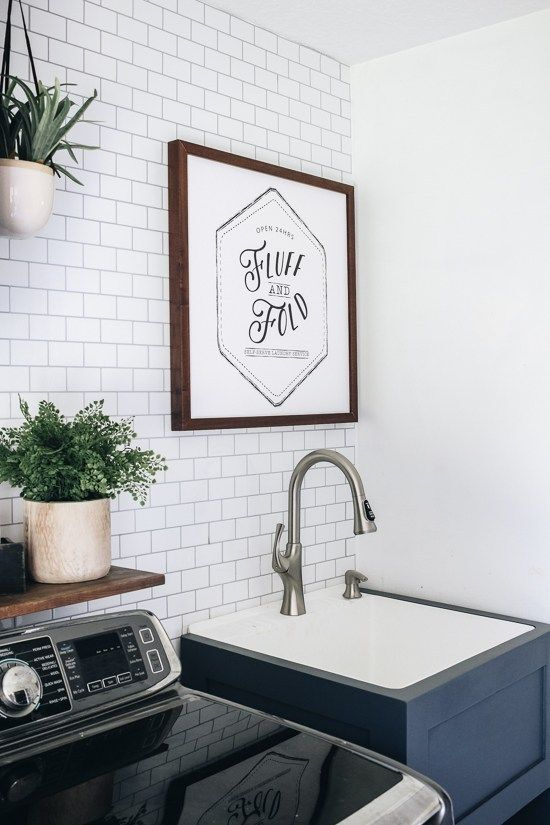 Installing A New Faucet For Our Utility Sink With Images