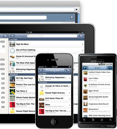 Springpad.  Free app.  Yay!