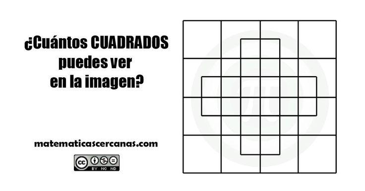 SOLUCIÓN a ¿Cuántos CUADRADOS puedes ver en la imagen? - matematicascercanas