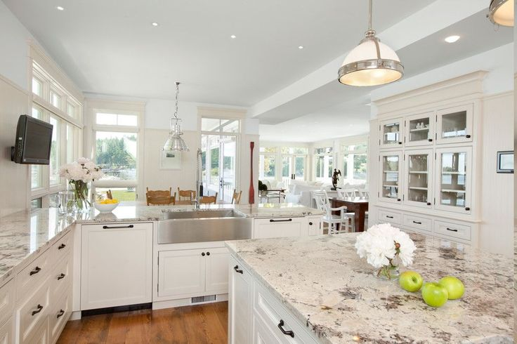 Try looking for some good Alaskan white granite for your kitchen, especially with the elegant and stylish looks when you are using it on your kitchen ...