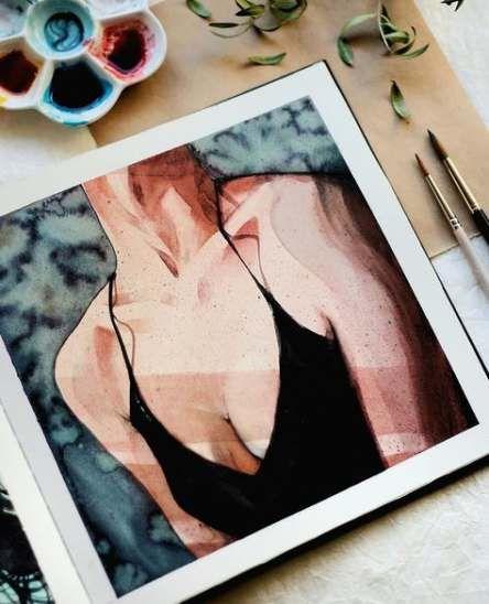 Painting people aesthetic 28+ Ideas