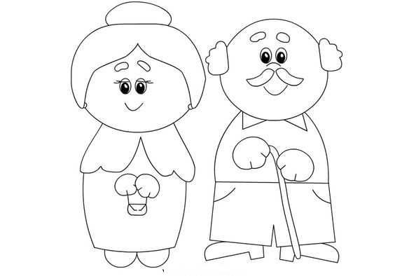 Seniors Week Coloring Page Preschool Children Akctivitiys Grandparents Day Activities Coloring Pages Preschool
