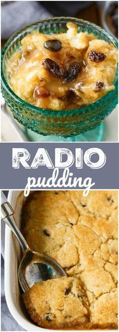 Radio Pudding - A si Radio Pudding - A simple vintage recipe...  Radio Pudding - A si Radio Pudding - A simple vintage recipe that has been passed down from generation to generation. The cake base bakes right in a luscious butterscotch sauce. Recipe : http://ift.tt/1hGiZgA And @ItsNutella  http://ift.tt/2v8iUYW