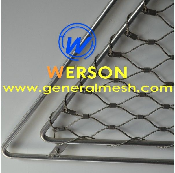 9 best flexible stainless steel rope mesh webnet stainless steel mesh generalmesh images on. Black Bedroom Furniture Sets. Home Design Ideas