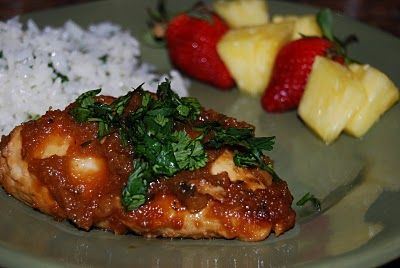 Hawaiian Chicken looks yummy! Have to try this one for something ...