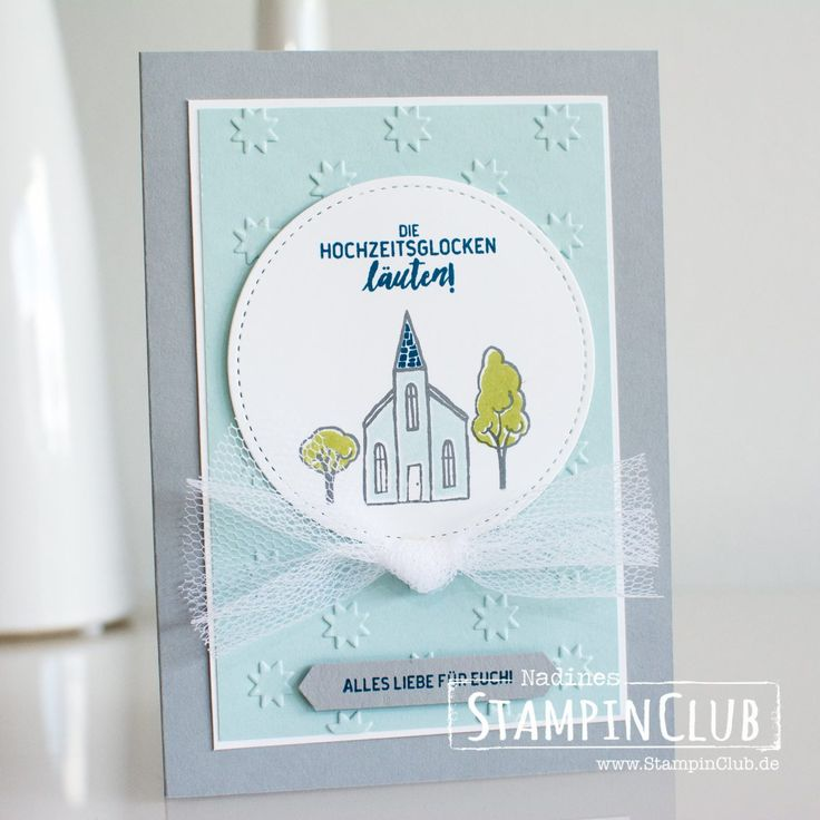 Stampin' Up!, StampinClub, Standt Land Gruß, In the City, Framelits Formen Stickmuster, Stitched Shaped Framelits, Textured Impressions Prägefolder Alle meine Sterne, Oh My Stars Textured Impressions Embossing Folder