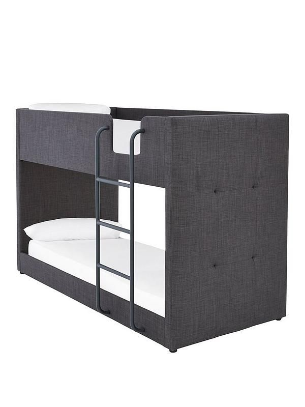 Lubana Fabric Bunk Bed Frame With Mattress Options Buy And Save
