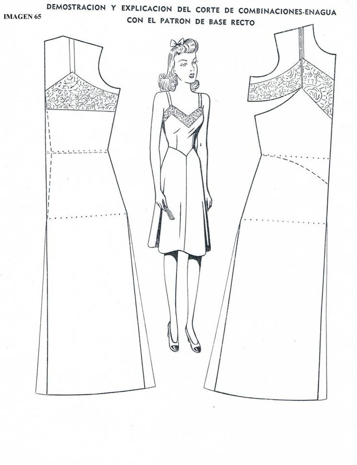 Draft Slip Pattern