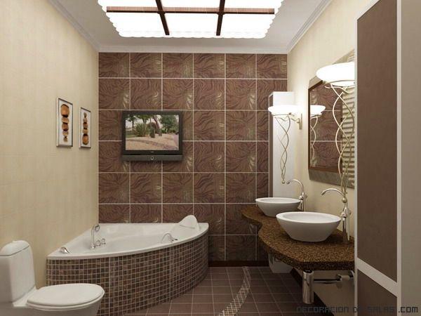 17 mejores ideas sobre colores del cuarto de baño de color marrón ...