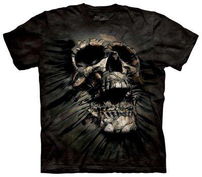 Breakthrough Skull T-Shirt at AllPosters.com