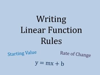 Linear Functions and Proportionality
