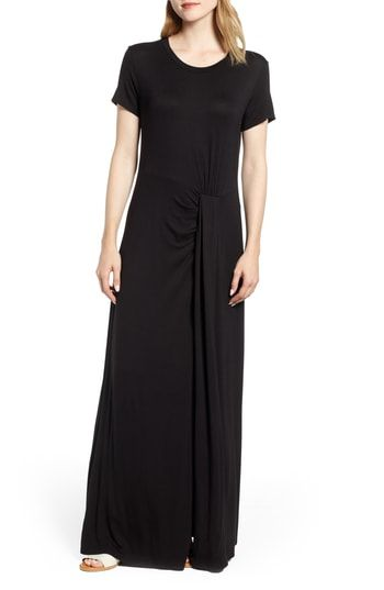 41b2e519cb3 Great for Caslon  Front Gathered Maxi Dress womens dresses.   59   topoffergoods from top store