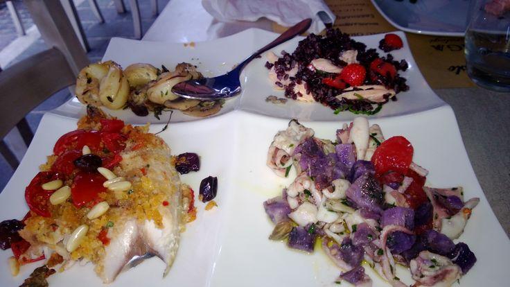 Fish restaurant in Pescara center